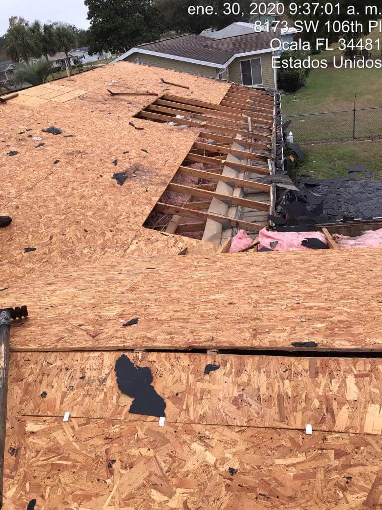 Palm Lake Apartments - Reroof Job In Ocala FL - 2