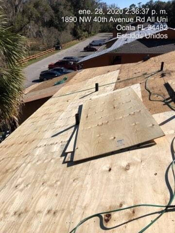 Palm Lake Apartments - Reroof Job In Ocala FL - 4