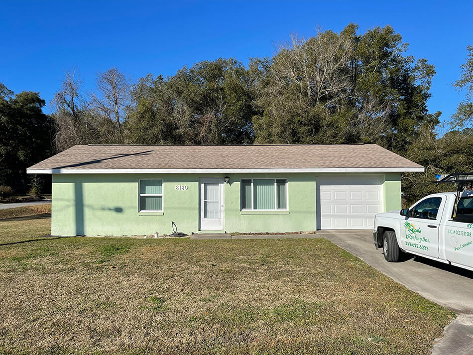 8180 SW 75th Ave 34476 - Img 1 - New Roof by Ocala Roofing Inc.